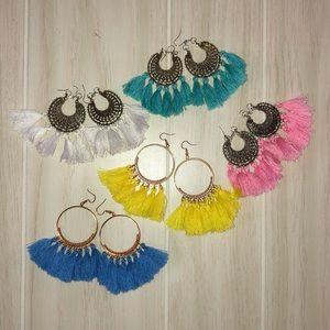 Tassel Fringe Bohemian Earrings